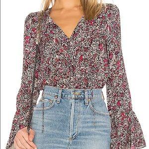 BCBG floral top